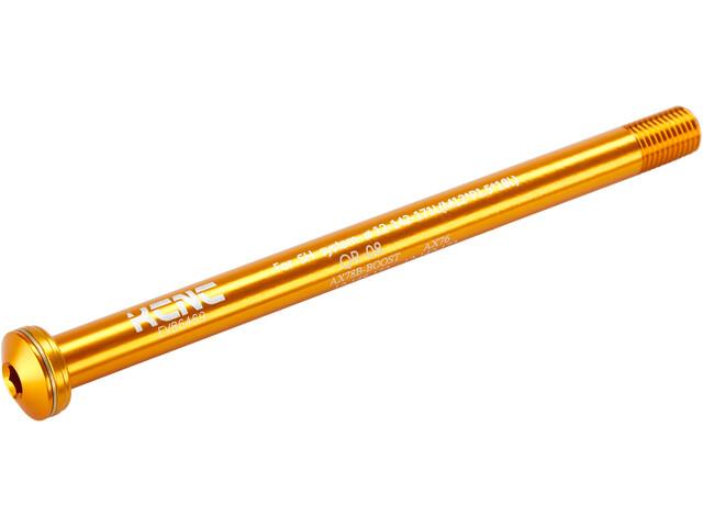 KCNC KQR08-SH Eje Pasante 12x142mm Eje Pasante/Fox, Dorado